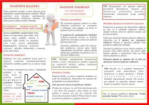 Pojištění majetku 2. strana